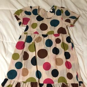 Anthropologie Jenny Han Polka Dot Dress